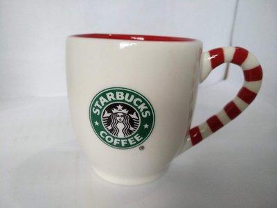 Starbucks 星巴克 星巴克耶誕拐杖馬克杯 3oz 2010耶誕馬克杯  耶誕拐杖馬克杯 舊LOGO星巴克 現貨