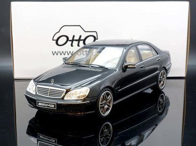 【M.A.S.H】現貨特價 OTTO 1/18 Mercedes Benz S Class S65 AMG W220 黑