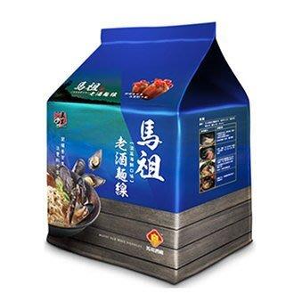 五木馬祖老酒麵線 (淡菜海鮮風味) 88G*4