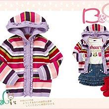 【B& G童裝】正品美國進口Crazy8 彩色條紋長袖針織外套12-18-24mos
