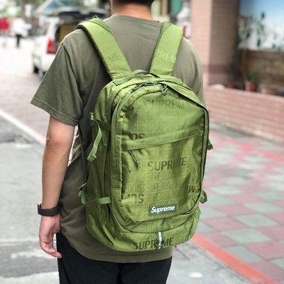 19SS Supreme 46th Backpack 後背包 雙肩背包 書包 筆電包 男女