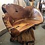 柚木旋轉椅 (L87 W56 H47/ 85 cm)