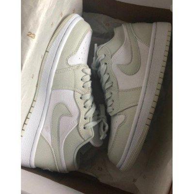 """無現貨Air Jordan 1 Low """"Spruce Aura"""" 云杉 女款 休閒鞋 運動鞋 CW1381-003 現貨代購"""