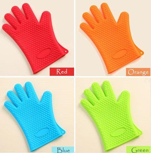 :::宅優物:::  矽膠隔熱手套♣防燙手套♣烘焙手套♣防滑手套