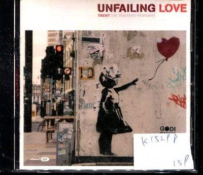 *真音樂* UNFAILING / LOVE 二手 K15298