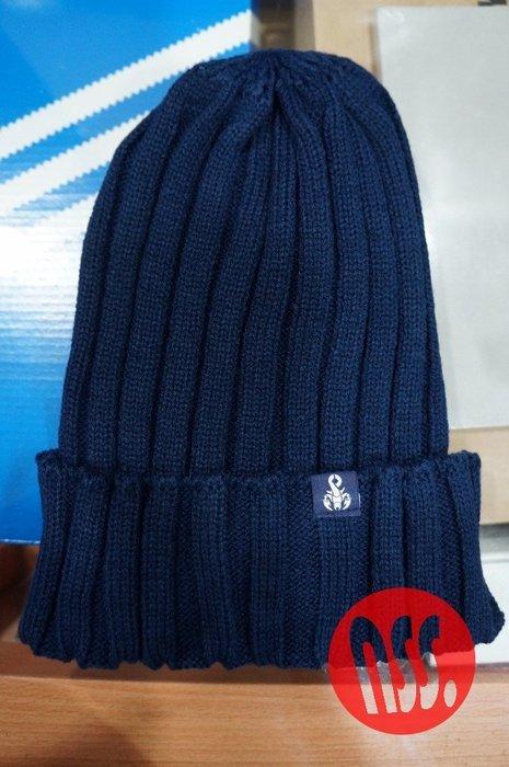 「NSS』SOPHNET SOPH 16 BASIC KNIT CAP 蠍子 毛帽 黑 藍