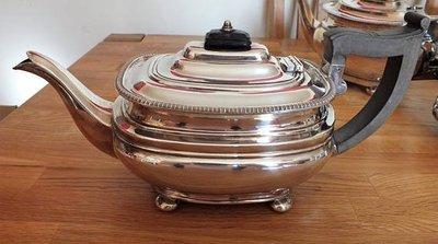 39英國高級鍍銀壺 Beautiful Antique Circa 1905 Tea Pot