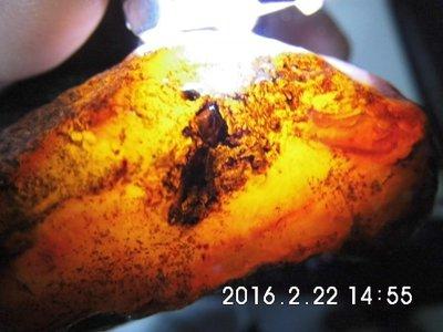 蜜糖紅/天然清透紅玉瓍寶石原礦405公克~通透嫣紅→原礦塊料1455A