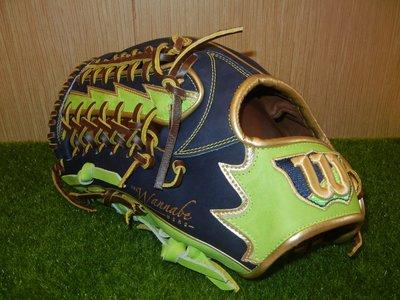 全新日規軟式威爾森WILSON wannabe hero棒壘球手套 T網輕量化 12.5吋 外野 反手 左投 左撇