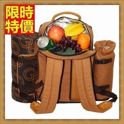 野餐包 2人餐具組 雙肩後背包-優閒度假戶外外觀實用踏青雙人野餐包 68ag20[獨家進口][米蘭精品]