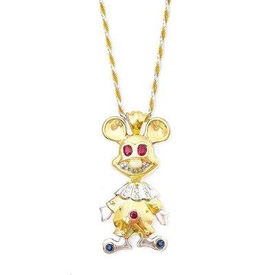 【JHT 金宏總珠寶/GIA鑽石專賣】0.72ct天然紅寶鑽石項鍊/材質:18K/(JB18-A28)