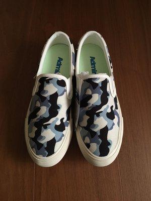 Admiral 藍色迷彩帆布鞋