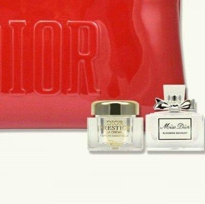 Dior 迪奧  花蜜乳霜 5ml + miss dior 香氛 7.5ml 超值組