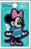 大賀屋 日貨 米妮 刺繡貼 印貼 熨燙貼 衣服貼 包包貼 刺繡貼紙 補丁貼紙 布貼 迪士尼 正版 J00018275