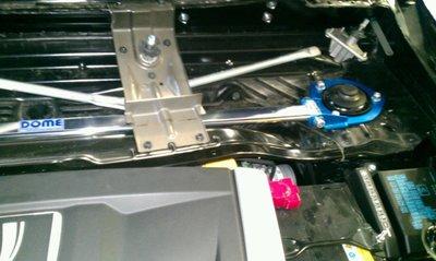 【童夢國際】D.R DOME RACING LUXGEN 7 SUV MPV 引擎室拉桿 高強度 U7 M7 前上拉桿
