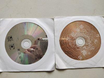 二手裸片CD~日本女歌手原田郁子(銀河)+(野獸與魔法)保存良好CD無刮