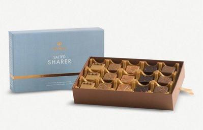 (預購7天寄出)英國 FUDGE KITCHEN Salted Sharer assorted fudge 海鹽綜合牛奶糖禮盒330g