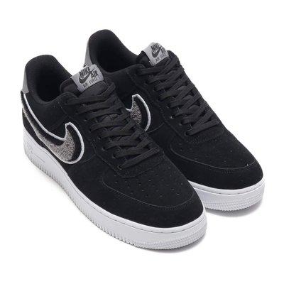 =CodE= NIKE AIR FORCE 1 07 LV8 毛線料麂皮籃球鞋(黑白灰) 823511-014 男女