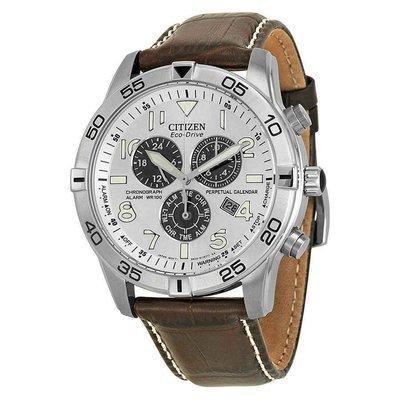 【換日線】男錶 Citizen Perpetual Calendar Eco-Drive Chronograph Men's Watch BL5470-06A