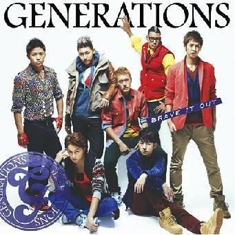 GENERATIONS--BRAVE IT OUT (日版CD) 全新未拆