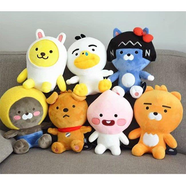 【FAT CAT HOUSE胖貓屋】韓國kakao friends萊恩Ryan嬰兒版玩偶 BTS防彈少年團 姜丹尼爾同款