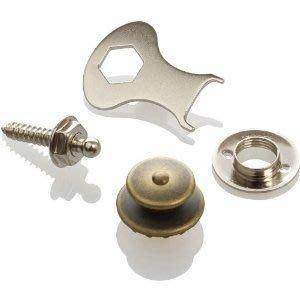 《民風樂府》德國製 LOXX-E-A-Brass 古董黃銅安全背扣