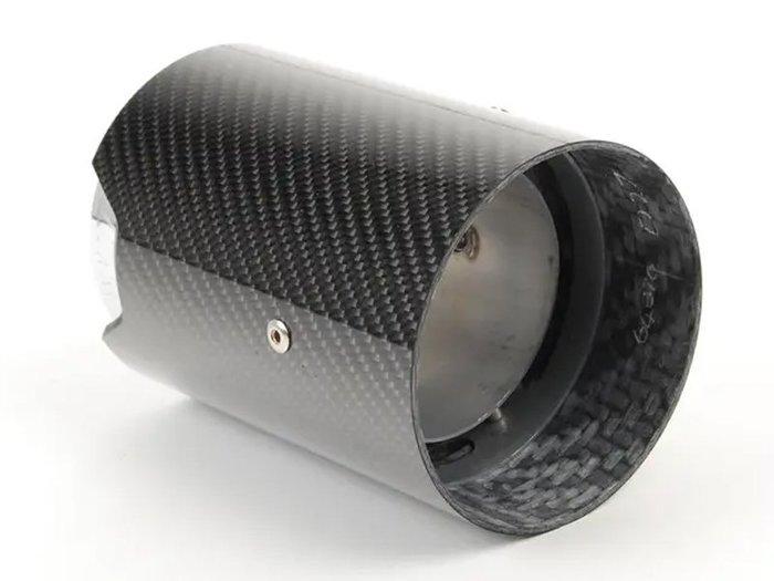 【樂駒】BMW Carbon Fiber Finish M Performance 碳纖維 尾飾管 原廠 改裝 亮面