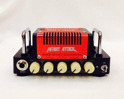 立昇樂器 Hotone Nano Legacy Heart Attack 5瓦 迷你 電吉他音箱頭