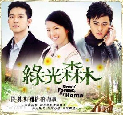 【綠光森林】【國語中字】【立威廉 劉品言】DVD