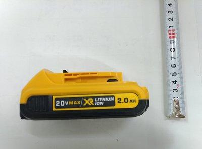 全新 通用 得偉 鋰電池 20V(18V) 2000mAh 有電量顯示 DCB200 DCB204 DCB205