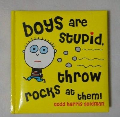 【童書】boys are stupid, throw rocks at them !