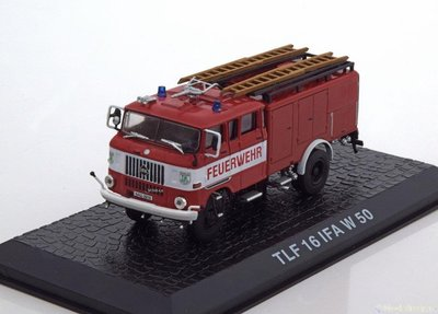 【M.A.S.H】[現貨特價] Altaya 1/72 IFA W50 TLF16 fire Department