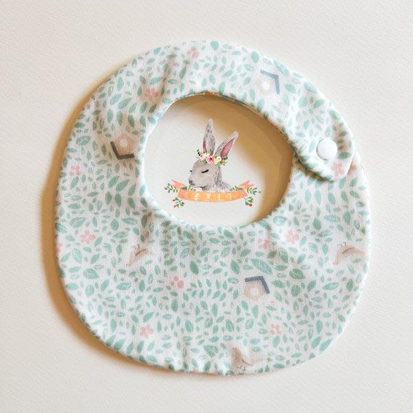 米咕手作 △ 寶寶六重紗 圍兜兜 / 口水巾 / 領巾 |小鳥的家|