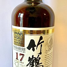 Nikka Taketsuru 竹鶴 17年 WWA 2014得獎版