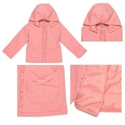 日本童裝Pupil house 鋪棉外套,尺寸 120cm 及130cm,100%純棉,可水洗 ,現貨