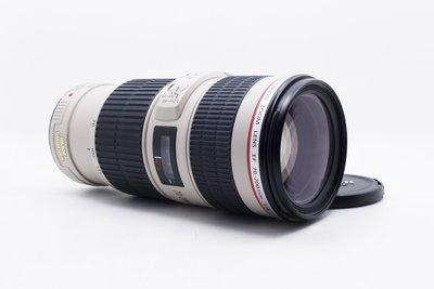【台中青蘋果】Canon EF 70-200mm f4 L IS USM UB鏡 二手 鏡頭 #60063