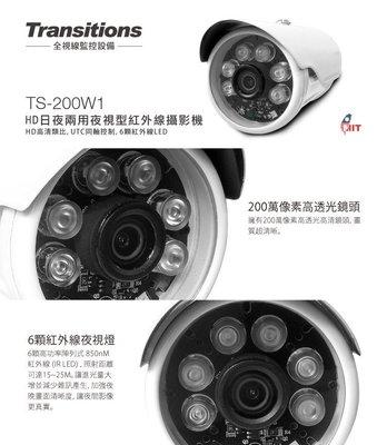 【皓翔】全視線 TS-200W1 HD日夜兩用  夜視型紅外線 攝影機