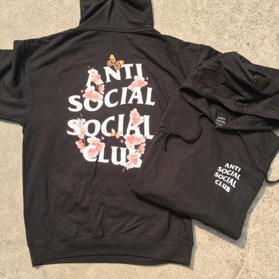 ☆LimeLight☆ Anti Social Social Club Kkoch 櫻花帽TEE 黑 S M L XL