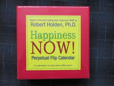 「365個快樂小秘訣」桌上型日曆(Happiness Now Perpetual Calendar)~心靈滿足、人生意義