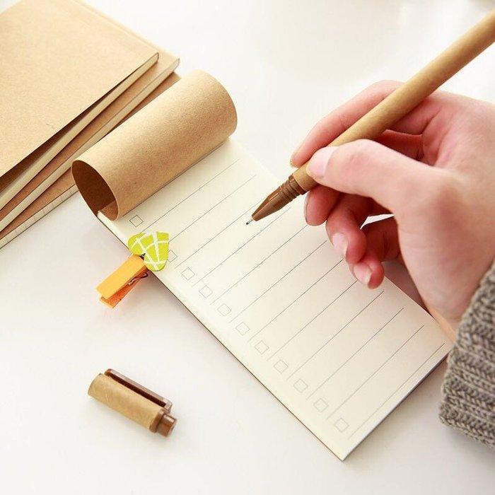 【簡約復古無印牛皮紙封面記事本】 4款  橫線/方格/空白筆記本