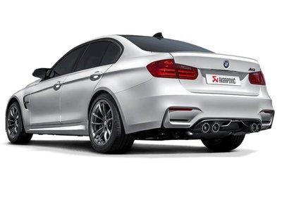 【樂駒】Akrapovic Evolution BMW F80 M3 尾段 中尾段 排氣管 鈦合金 輕量化 改裝 外觀