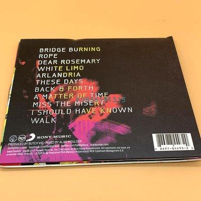 爆款CD.唱片~噴火戰斗機 Foo Fighters Wasting Light CD  專輯