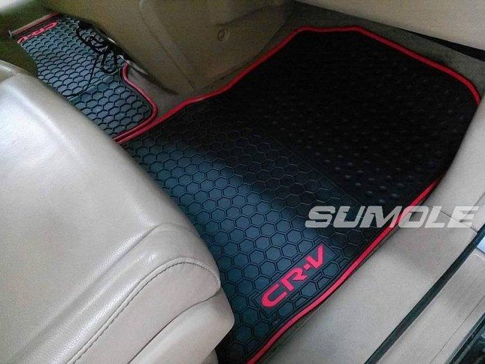 *狗狗的雜貨店*本田 Honda CRV 3 CRV3 3.5 全車腳踏墊 立體 防水 耐磨 橡膠腳墊 地墊 防水墊 V