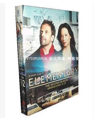 高清DVD音像店 美劇 福爾摩斯與華生:基本演繹法 Season2英日雙語12D9日盒裝 兩套免運