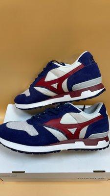 【小黑體育用品】MIZUNO 美津濃 1906系列休閒復古慢跑鞋(深藍*紅)D1GA190862 過季降價出清