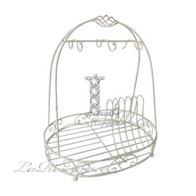 【Creative Home】Cottage Chic 法式田園系列優雅圓弧狀餐具架 / 杯架 / 置物架 / 收盤架