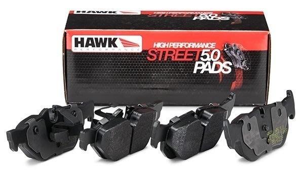 美國 HAWK HPS 5.0 前 來令片 剎車皮 VW Golf GTI 專用