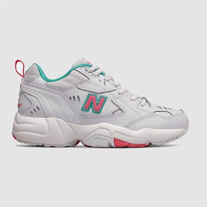【QUEST】NEW BALANCE 608 老爹鞋 粉色 湖水綠 IU韓妞 女鞋 厚底 桃紅 白色 WX608WT1