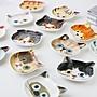 貓咪醬油碟 ECOUTE! minette 陶瓷碟 沾醬 廚房小物 貓咪頭陶瓷醬料醬油小碟子醬料碟飾品裝飾盤