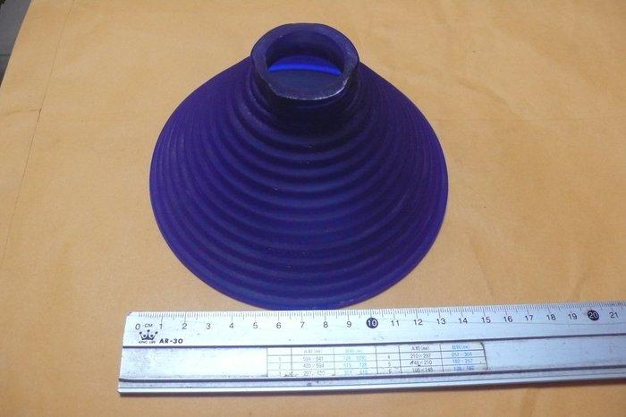 紫色小館-87---------早期藍色燈罩